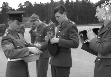 (video) St Patricks Day Parade At Pirbright, 1967